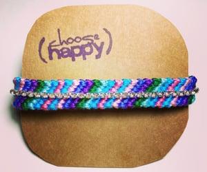 bracelet, diy, and friendship image