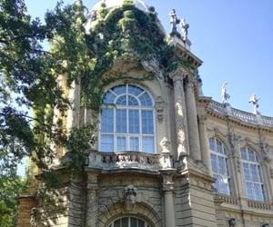 architechture, castle, and budapest image