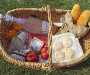aesthetic, soft, and picnic image