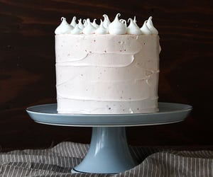 food and white cake image