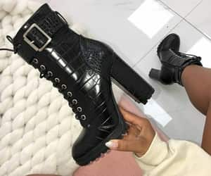 ankle boots, boots, and gucci image