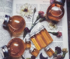 aesthetic, crystals, and honey image