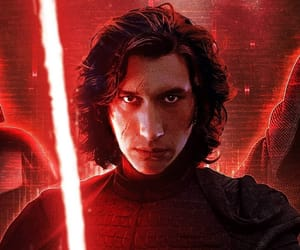 dark side, star wars, and adam driver image
