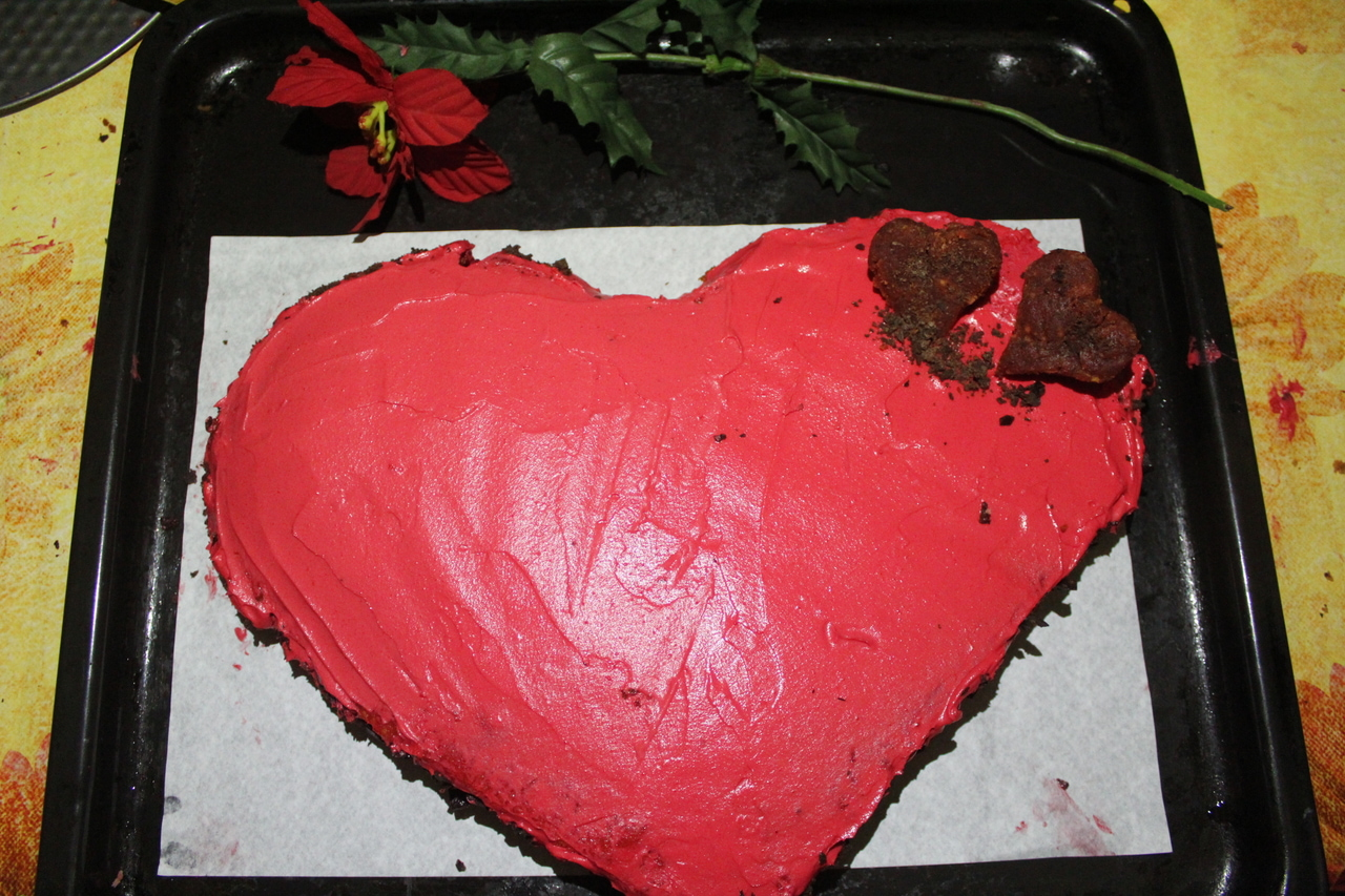 article, valentine cake, and valentine image