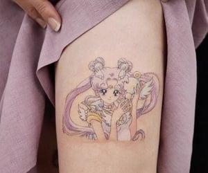 art, sailor moon, and tatuaje image