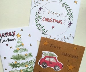 cards, christmas, and creative image
