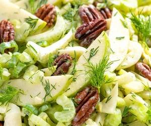 food, recipe, and salad image