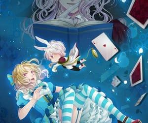 alice in wonderland, anime, and fanart image