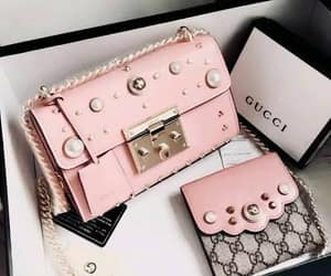 fashion, pink, and gucci image