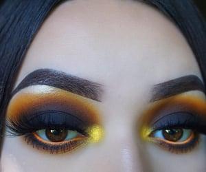 eyebrows, inspiration, and smokey eyeshadow image