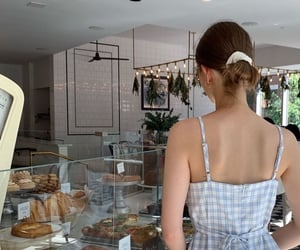 bakery, blue, and bread image