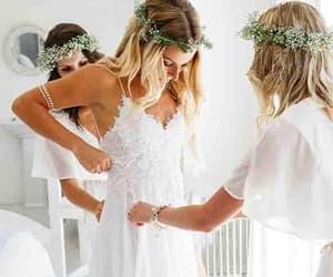 wedding dress, backless wedding dresses, and wedding dress backless image