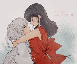 anime, anime girl, and Valentine's Day image