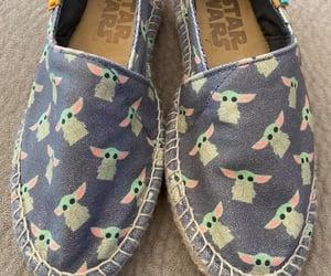 shoes, baby yoda, and star wars image