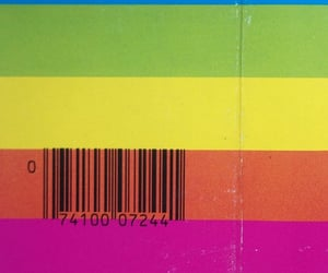 barcode, code, and colors image
