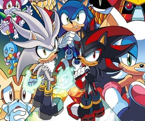 amy, sonic, and cheese image