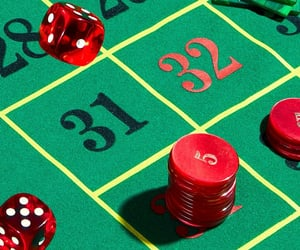 casino, numbers, and dice image