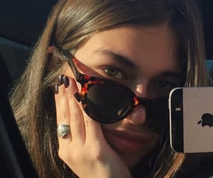 espelho, girl, and moda image
