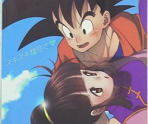 anime, couple, and son goku image