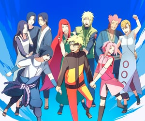 sasuke uchiha, team 7, and naruto image