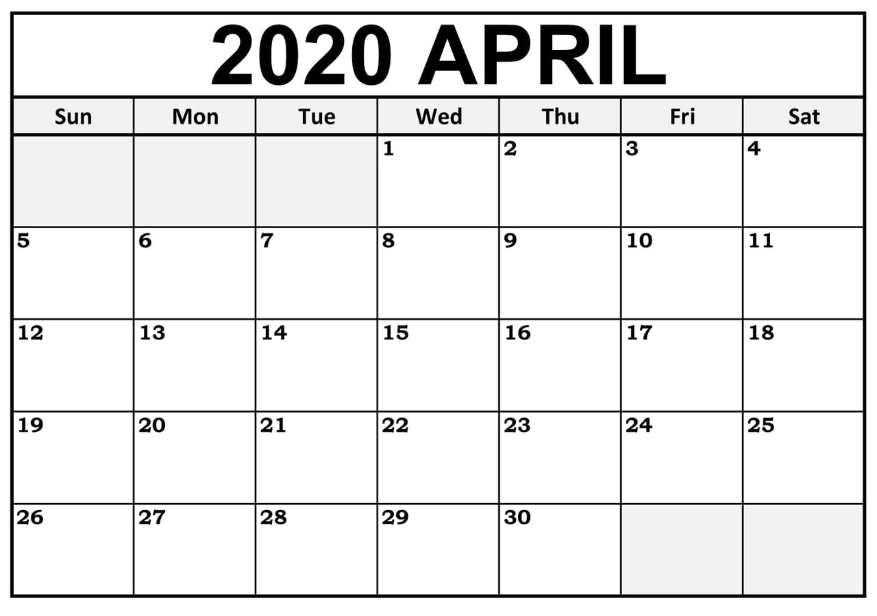 article, 2020 aprilcalendar, and blankcalendar2020 image