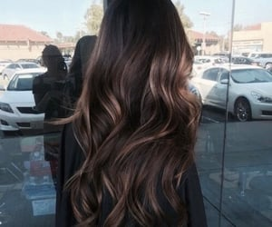hairstyle, hair, and hair colour image