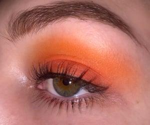 eyes and orange image