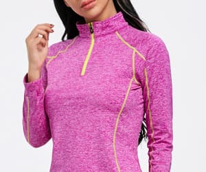 girl, sweater, and tshirt image