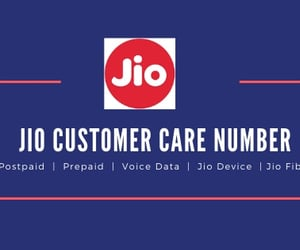 jio customer care number image