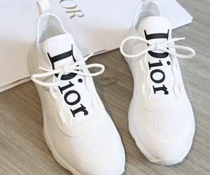 designer, dior, and shoes image