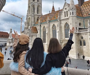 budapest, travel, and friends image