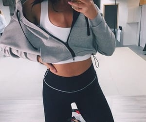 fitness, girls, and outfits image
