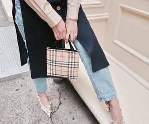 accessories, bag, and Burberry image