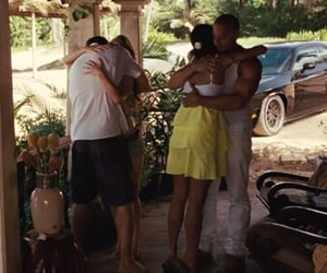 hugging, movie, and fast and furious image