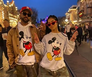 couple, disney, and street style image