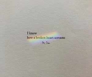 broken, broken heart, and cry image