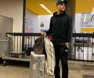 airport, g eazy, and suitcase image
