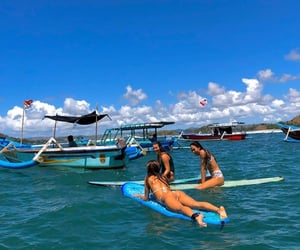 indonesia, surfing, and inka williams image