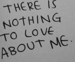love, quotes, and nothing image