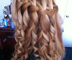 beautiful, curly hair, and pretty image