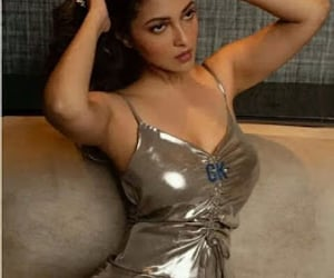 indian actress and fashion girl dress image