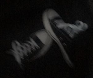 shoes, aesthetic, and black image