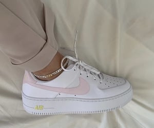 style, nike, and pink image
