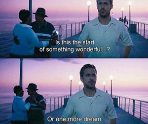 movie, romance, and la la land image