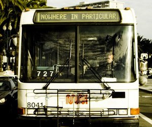 bus, nowhere, and vintage image