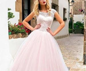 dresses, evening dress, and long prom dress image