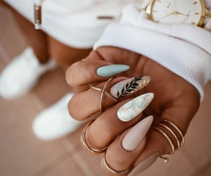 beautiful, nails, and manicure image