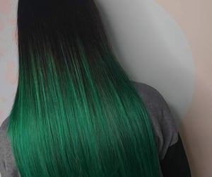 longhair, hairdye, and colorhair image