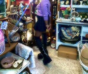 aesthetic, platforms, and thrift image