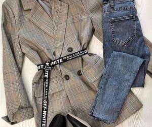 checked blazer image